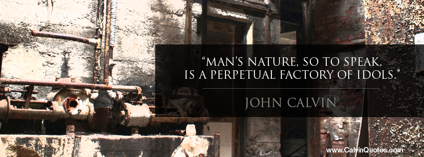 John Calvin Quotes Facebook Cover Photo